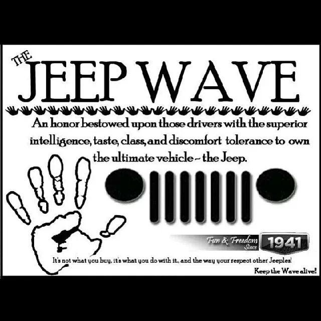 jeep wave